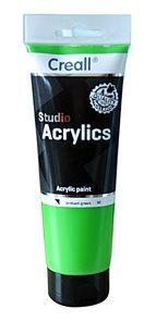 Akrylová barva Creall 250 ml - brilatní zelená