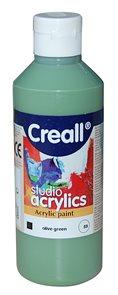 Akrylová barva Creall 250 ml - olivově zelená