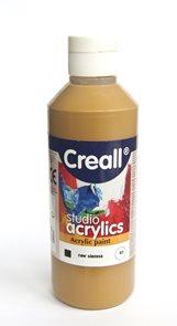 Akrylová barva Creall 250 ml - sienna syrová