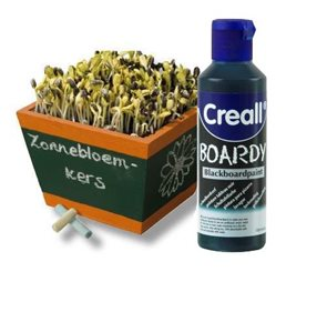 Tabulová barva 250 ml - modrá Creall