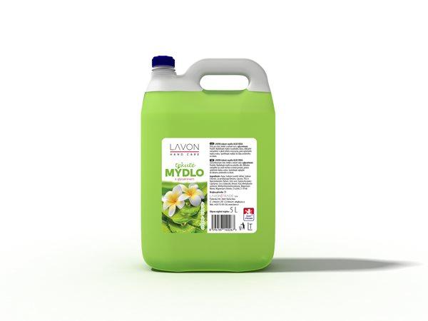 Lavon tekuté mýdlo 5 l - aloe vera