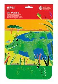 Malá kreativní sada 3D - Krokodýl