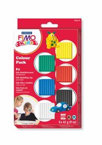 Sada FIMO Kids - základní 6 x 42 g