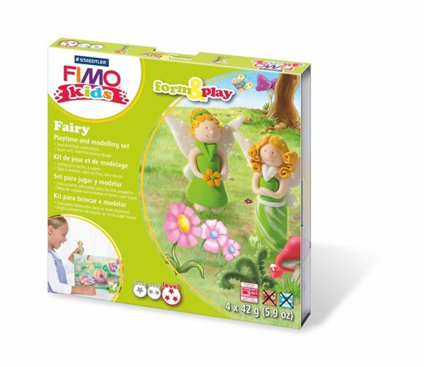 Sada FIMO Kids Form & Play - Víly