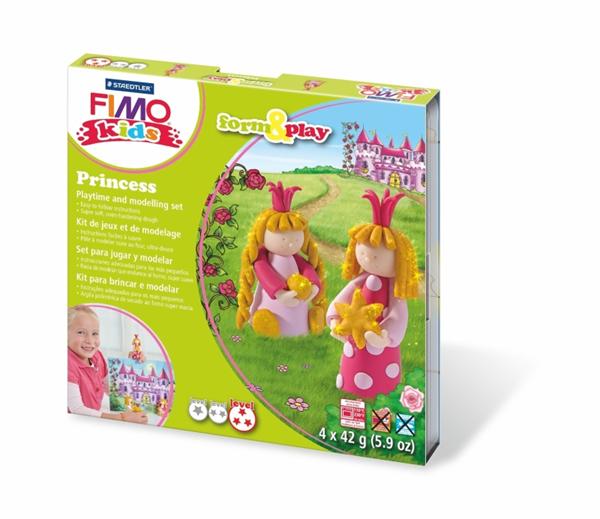 Sada FIMO Kids Form & Play - Princezny