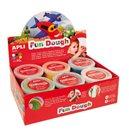 Modelovací hmota APLI Fun Dough - 12 x 40 g