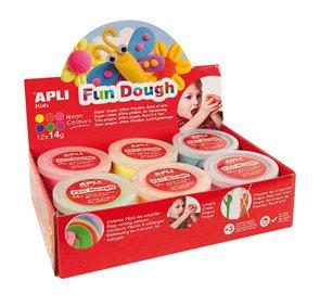 Modelovací hmota APLI Fun Dough - 12 x 14g