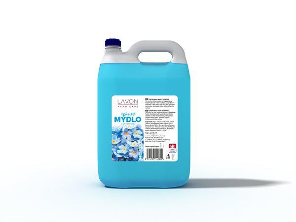 Lavon tekuté mýdlo 5 l - pomněnka
