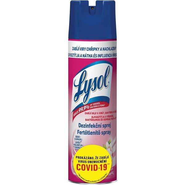 LYSOL dezinfekční sprej 400 ml - vůně květů