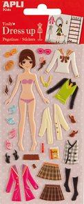 Oblékací panenka - Emily