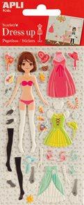 Oblékací panenka - Scarlett
