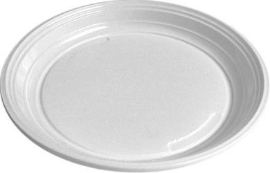 Talíře 20,5 cm - plastové ( 100 ks )