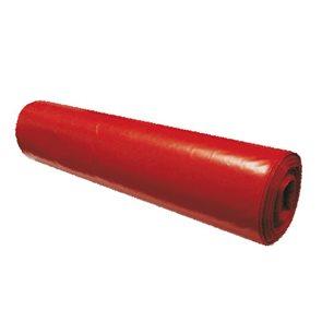 Pytle na odpad 120 l - červené 75 mikronů ( 15 ks )
