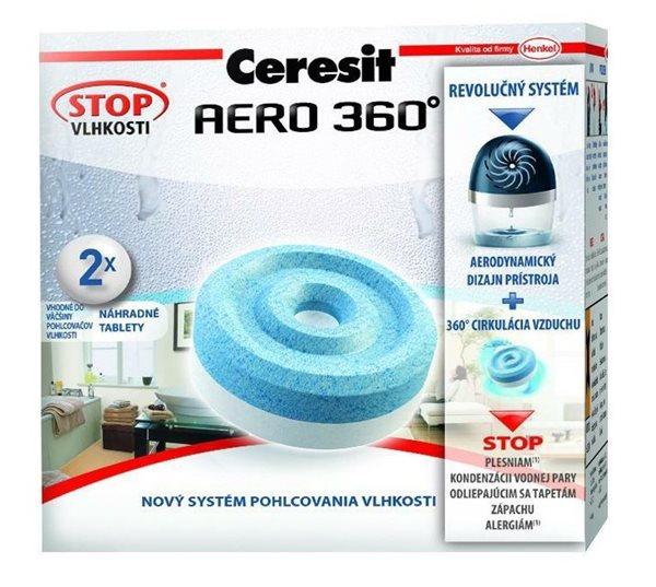 Ceresit Stop vlhkosti Aero 360 náhradní tablety 2v1
