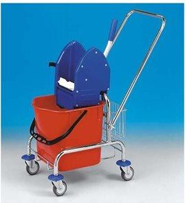 Úklidový vozík Clarol + košík, 17 l