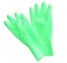 Úklidové gumové rukavice Vulkán zelené - velikost L