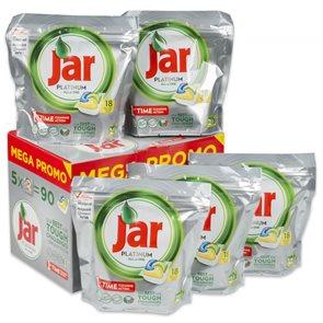Jar tablety do myčky - Platinum BOX 90ks ( 5 x 18ks )