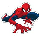 "Jerry Fabrics tvarovaný polštářek Spider-man ""02"""