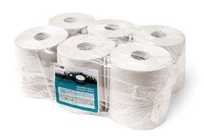 Smartline Maxi papírové ručníky v roli 2 vrstvé - bílé ( 210 x 190 mm ) - 1 role