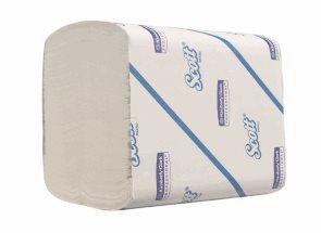 SCOTT toaletní papír skládaný - 2vrstvý, bílý ( 36 x 250 útržků)