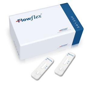 Flowflex SARS-CoV-2 Antigen Rapid Test - 25 ks ( z přední části nosu )