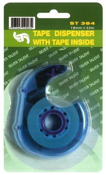 Lepicí páska 18 mm × 33 m, s odvíječem