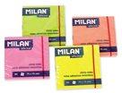 Milan samolepící bloček 76x76 mm 100 listů - reflexní žlutý