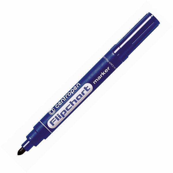 Centropen Popisovač 8550 na flipcharty - modrý