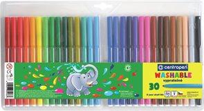 Centropen Popisovač 7790 - sada 30 barev