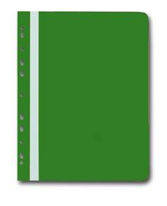 Karton PP Rychlovazač plastový A4 s euroděrováním 1 ks - zelený