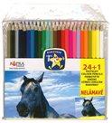 Europen Pastelky dřevěné 24+1 barev