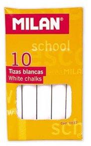 Milan Křídy 1037 bezprašné 10 ks - bílé