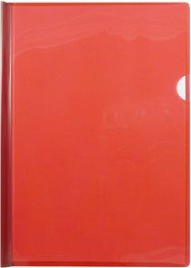 Desky s vázací lištou na 30 listů  A4 - červené