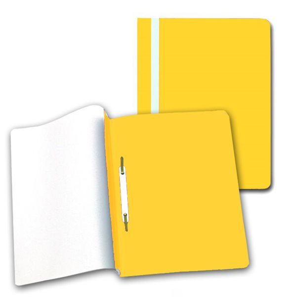 PP Rychlovazač plastový A4 1 ks - žlutý