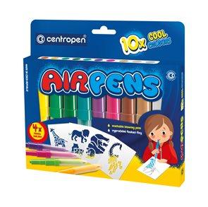 Centropen Foukací fixy 1500/10 Cool colours - sada 10 barev