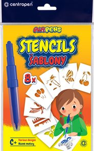Centropen Šablony 9996 pro foukací fixy set C+