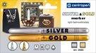 Centropen Popisovač 2690/2 - stříbrný a zlatý