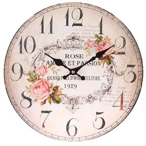 Hodiny Rose - Amor et Passion 34 cm