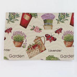 Gobelínové prostírání Herb Garden 4ks