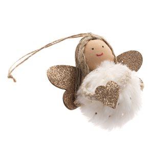 Anděl na zavěšení - bílý