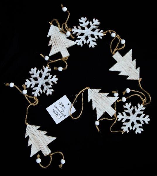 Vánoční girlanda Stromky (107 cm)