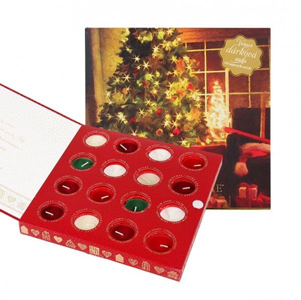 Albi Vánoční sada čajových svíček Heart & Home