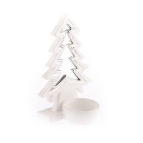 Keramický svícen Stromeček