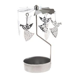 Kovový svícen Andělské zvonění - Andílci