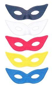 Maska Domino dětské, mix barev
