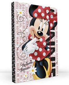 Karton PP Desky na sešity s boxem A4 - Minnie 2012