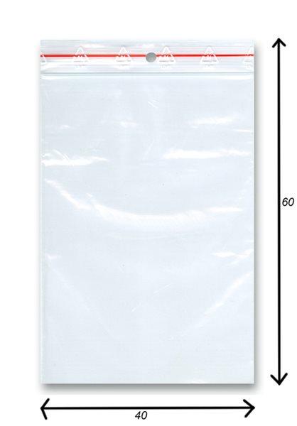 Sáček rychlozavírací 100ks - 40x60 mm
