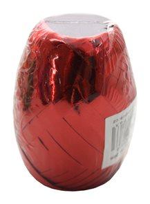 Stuha vázací metal 20m - červená