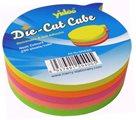 Samolepící bloček Bublina 250 lístků - neon mix
