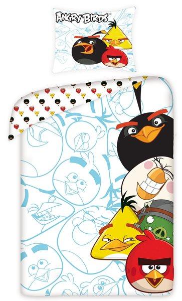 Dětské povlečení - Angry Birds 140 x 200 cm
